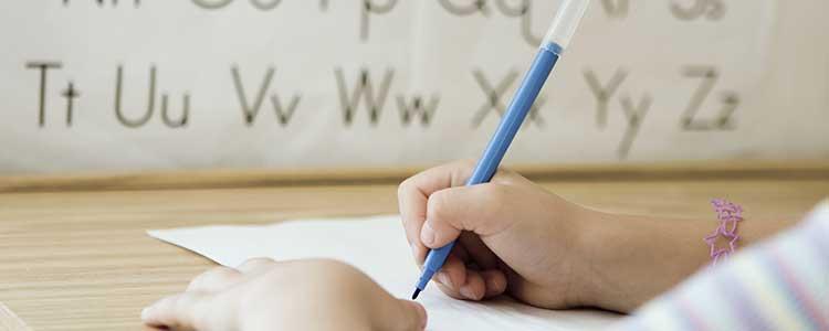 aprender a escribir con bolígrafo