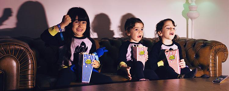 Planes en familia cine
